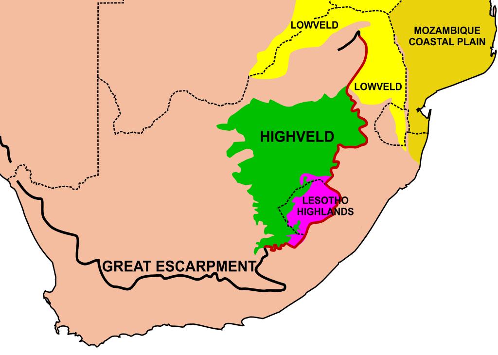 Great Escarpment Range of South Africa