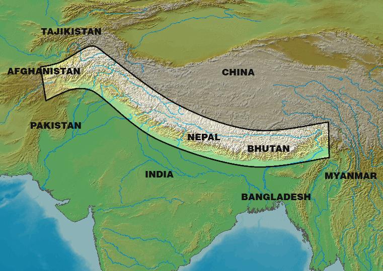 Himalayan Range Asia