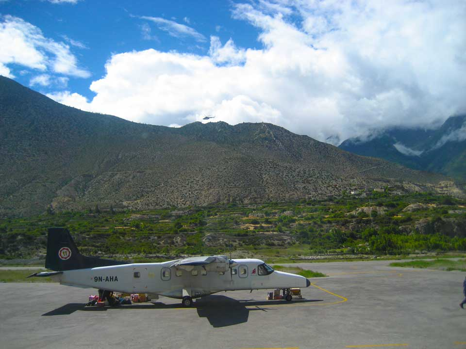 Domestic Airport Jomsom