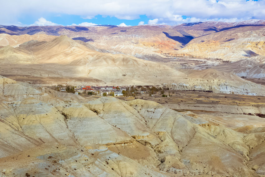 Lo Manthang ancient capital of Upper Mustang