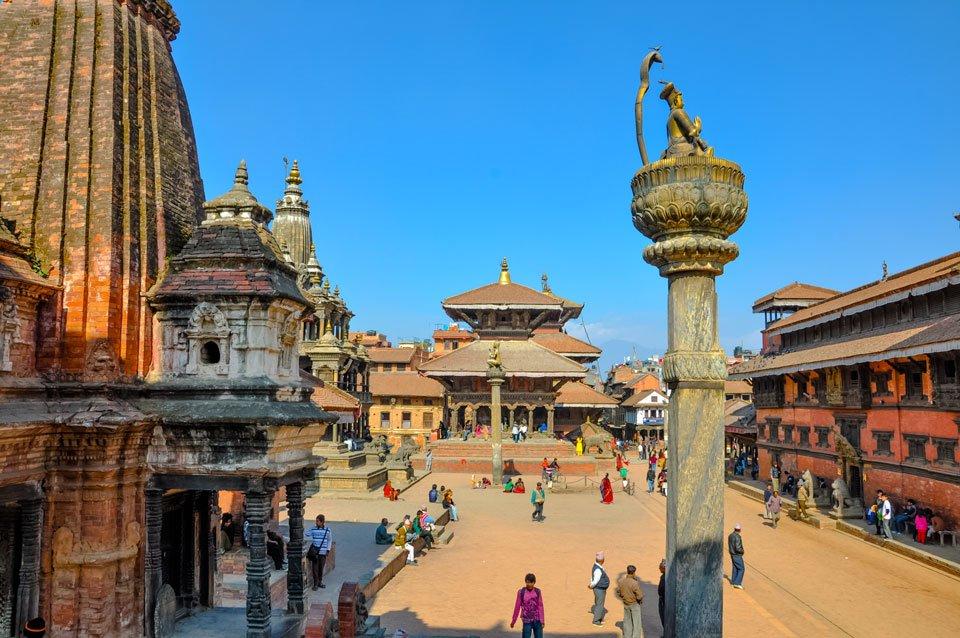 Patan Lalitpur Touristic Area