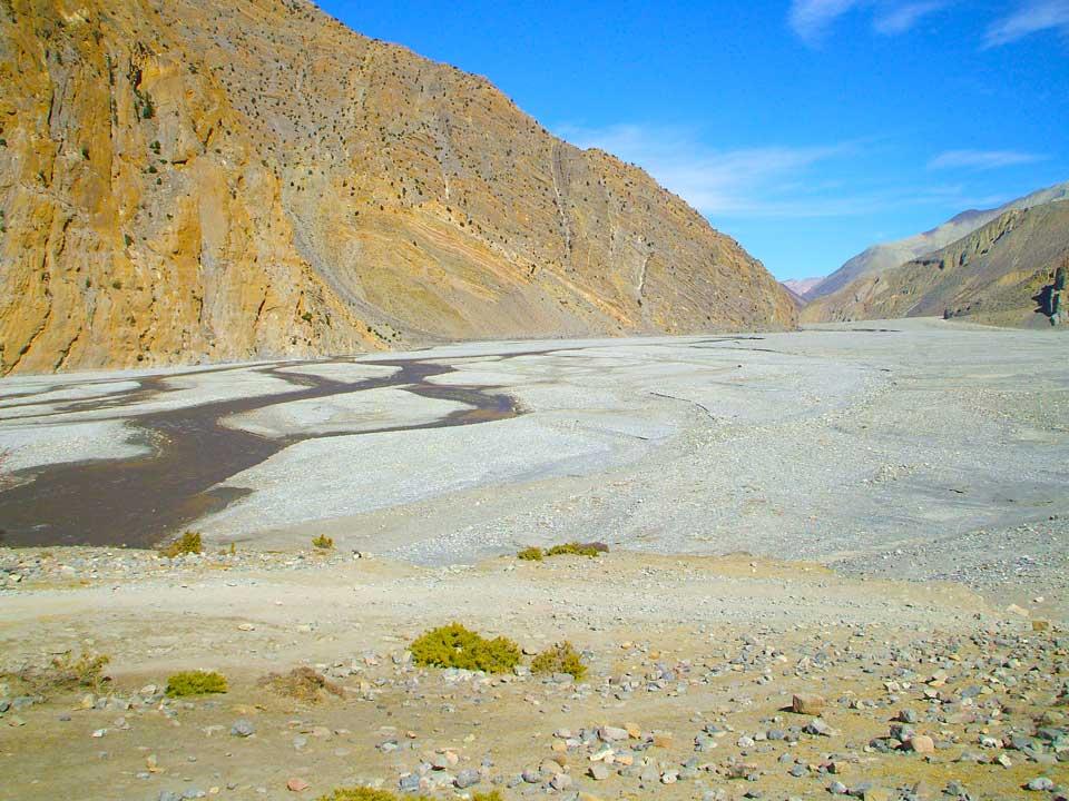 Shaligram Bagar near Muktinath Mustang