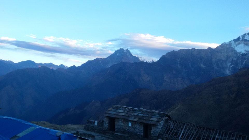 Stunning View From Khopra Danda
