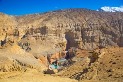 Upper mustang Trek view of Kali gandaki Gorge