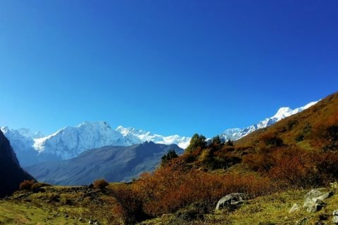 Clear weather of Nepal
