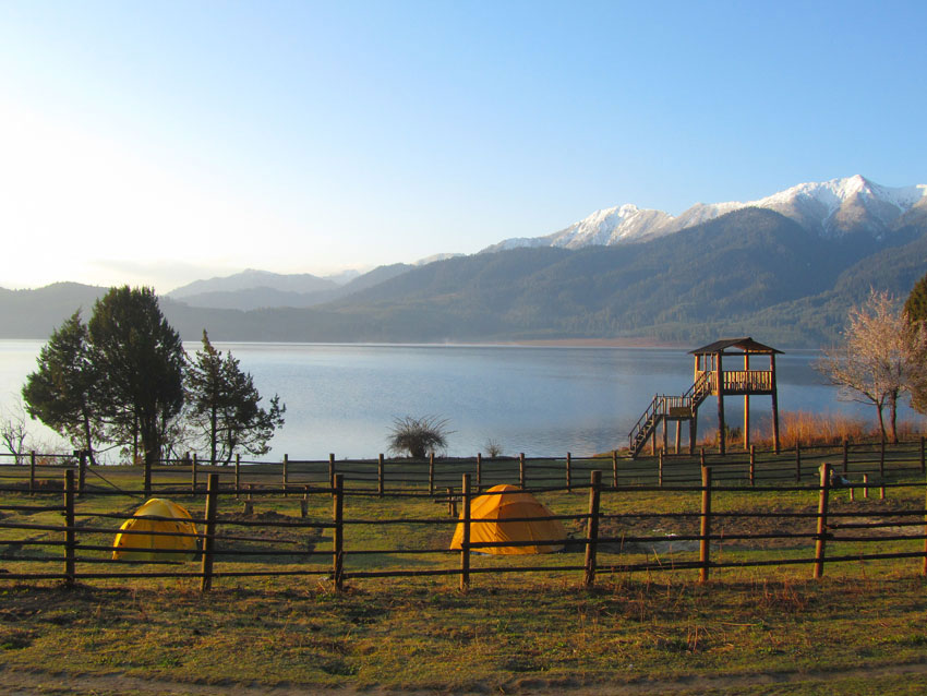 Beautiful lake of Nepal Rara Lake