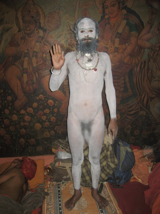 Nanga Baba a Holy man