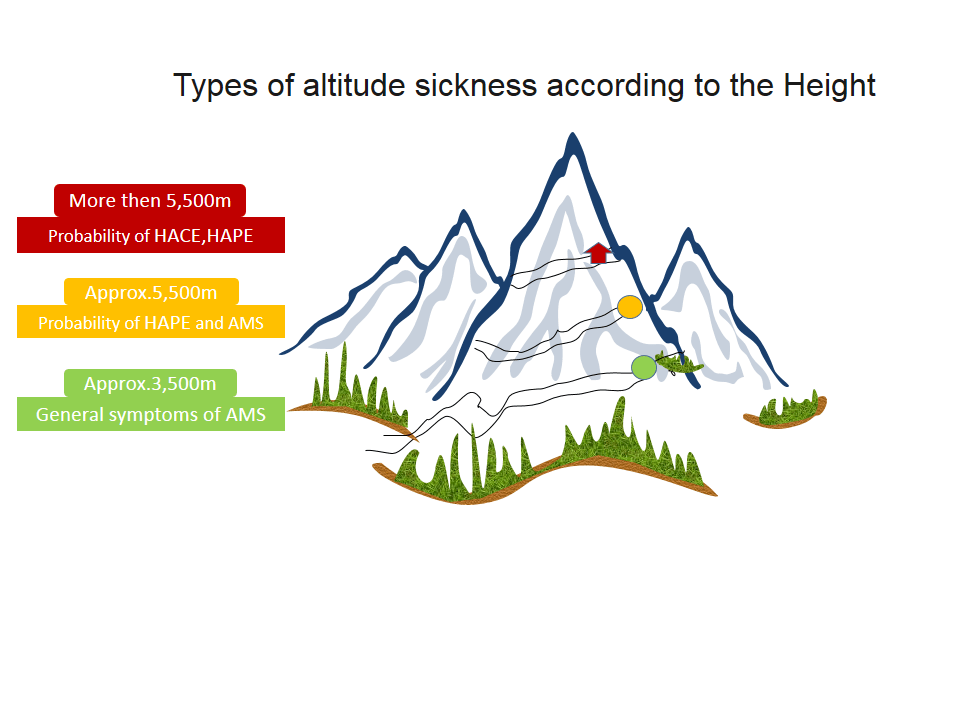 Infograph of Altitude and illness