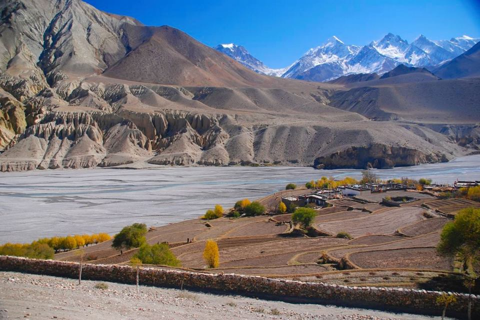 Upper Mustang Tiri village