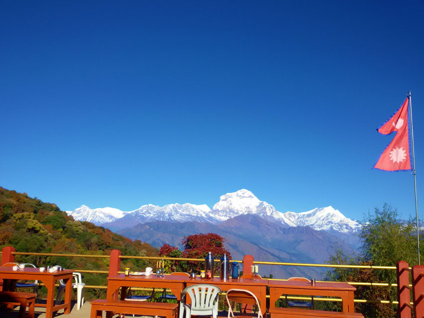 Scenery from Upper Ghorepani